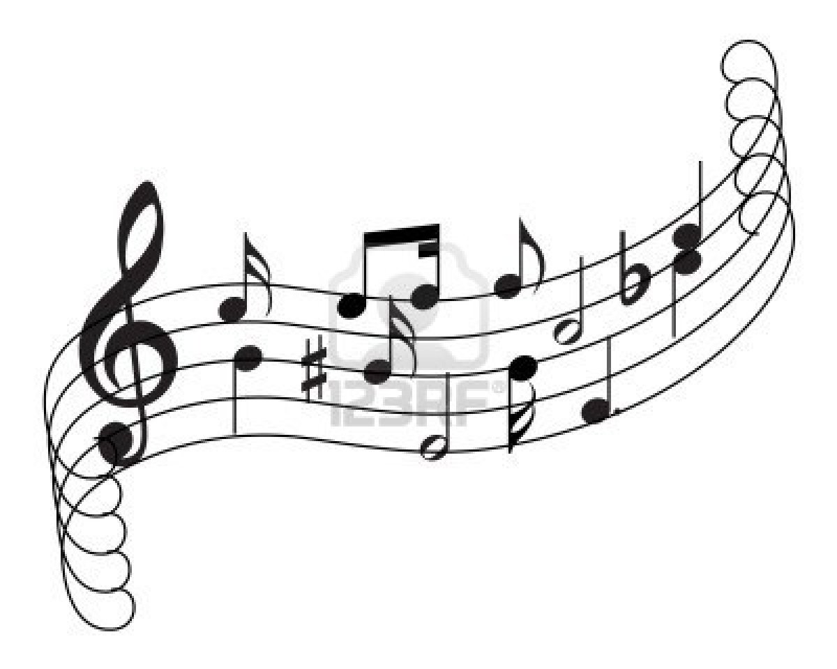 Line Drawing Music : Historia de las notas musicales el rincón mayriel